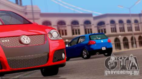 VW Golf V GTI 2006 для GTA San Andreas вид справа
