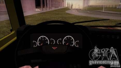 Камаз 5460 Рестайлинг для GTA San Andreas вид сзади