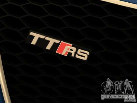 Audi TT RS для GTA San Andreas вид сбоку