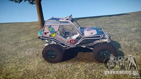 Mud Bogger v1.0 для GTA 4 вид сбоку