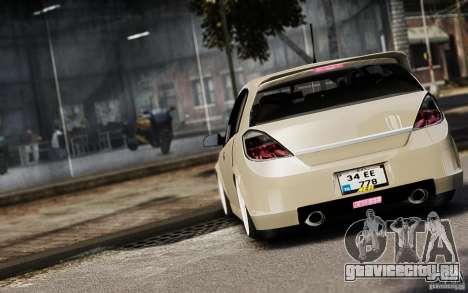 Opel Astra для GTA 4 вид сбоку