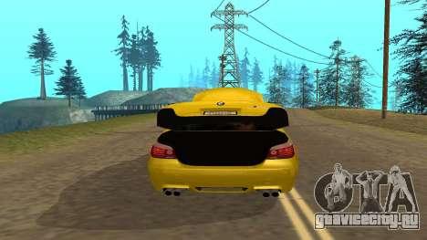 BMW M5 E39 для GTA San Andreas вид сбоку