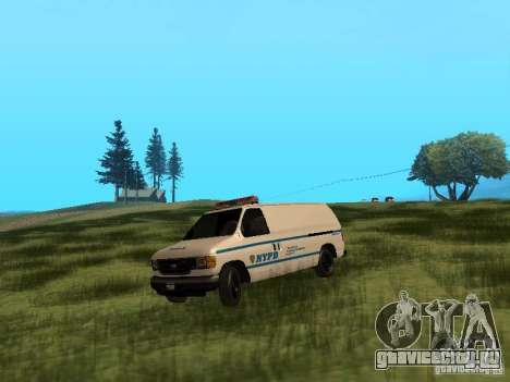 Ford E-150 NYPD Police для GTA San Andreas