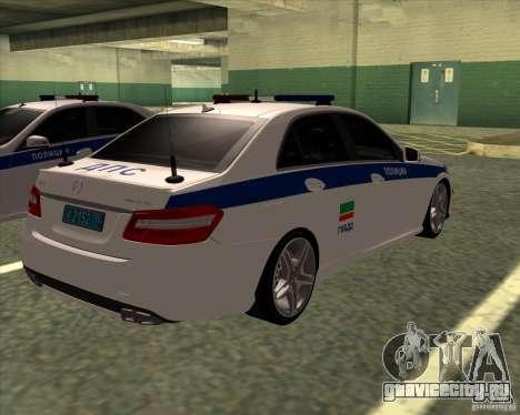 Mercedes-Benz E63 AMG W212 для GTA San Andreas вид справа