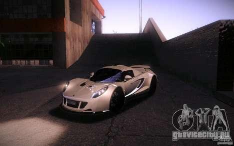 Hennessey Venom GT 2010 V1.0 для GTA San Andreas вид сбоку