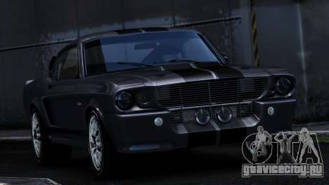 Ford Shelby Mustang GT500 Eleanor для GTA 4 вид сзади