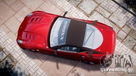 Ferrari 599 XX для GTA 4 вид справа