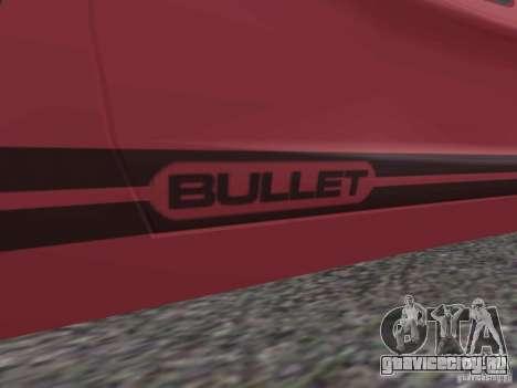 Bullet HQ для GTA San Andreas вид слева