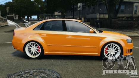 Audi RS4 EmreAKIN Edition для GTA 4 вид слева
