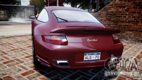 Porsche 911 (997) Turbo v1.1 [EPM] для GTA 4 вид сзади слева