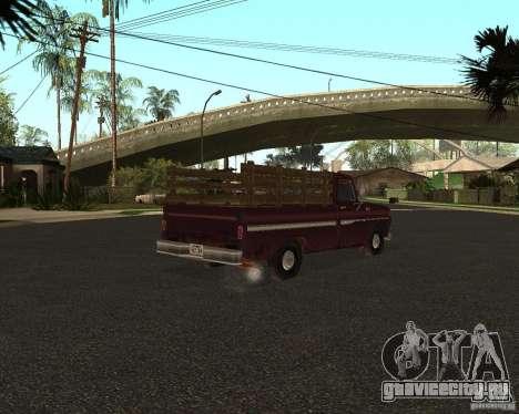 Chevrolet C 10 для GTA San Andreas вид слева