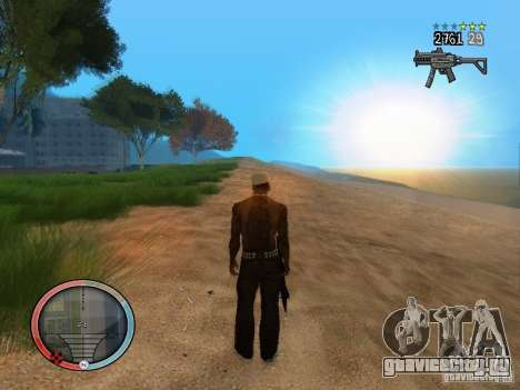 GTA IV HUD Final для GTA San Andreas седьмой скриншот