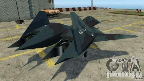 ADF-01 Falken для GTA 4 вид сзади слева