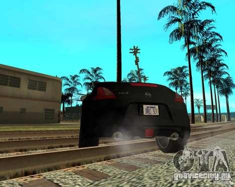 Nissan 370Z v2.0 для GTA San Andreas вид сзади слева