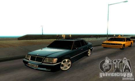 Mercedes-Benz W124 E420 AMG для GTA San Andreas вид слева