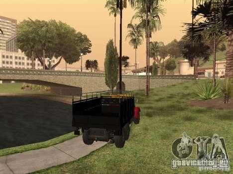 ЯАЗ 214 для GTA San Andreas вид слева