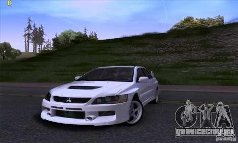 Mitsubishi Lancer Evolution IX 2006 для GTA San Andreas