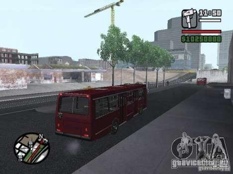 ЛАЗ 5252 для GTA San Andreas вид справа