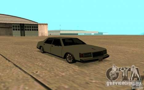 FBI Washington для GTA San Andreas вид сбоку