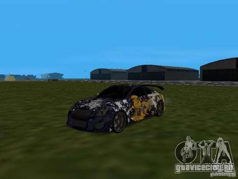 Infinity G35 Binsanity для GTA San Andreas