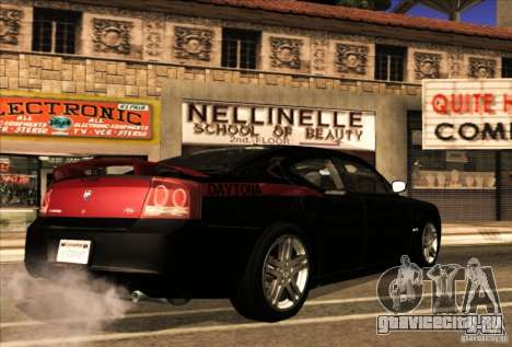Dodge Charger R/T Daytona для GTA San Andreas вид сверху