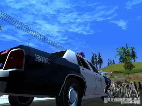 Ford Crown Victoria LTD 1992 LSPD для GTA San Andreas