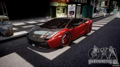 Lamborghini Gallardo Superleggera 2007 (Beta) для GTA 4