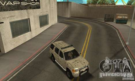Ford Explorer 2002 для GTA San Andreas двигатель