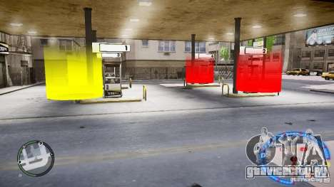 Fuel mod v3.0.0 (BETA) для GTA 4