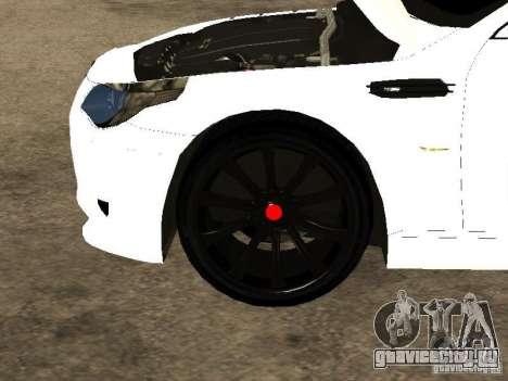 Bmw M5 Ls Ninja Stiil для GTA San Andreas вид сбоку