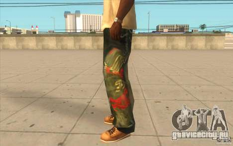 Hip-hop jeans для GTA San Andreas второй скриншот