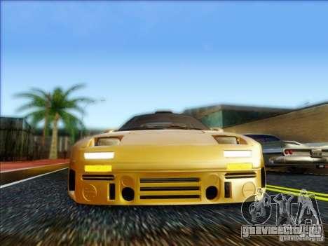 Diablo-Seven для GTA San Andreas вид сзади слева