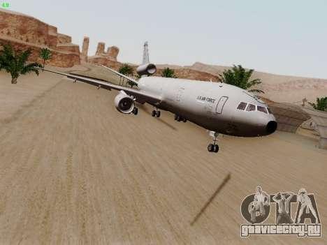 McDonell Douglas KC-10A Extender для GTA San Andreas вид слева