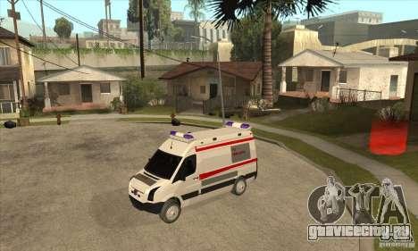 Volkswagen Crafter Ambulance для GTA San Andreas