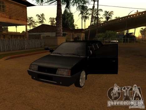 ВАЗ 21099 Лимузин для GTA San Andreas вид слева