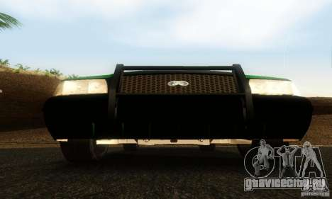Ford Crown Victoria Vermont Police для GTA San Andreas вид сзади