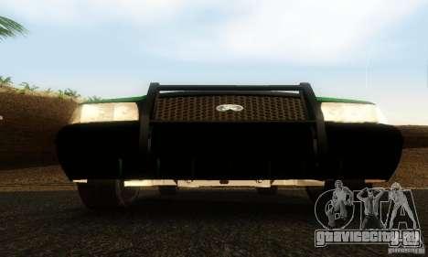 Ford Crown Victoria Vermont Police для GTA San Andreas вид сзади