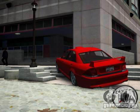 Schafter RS для GTA 4 вид сзади слева