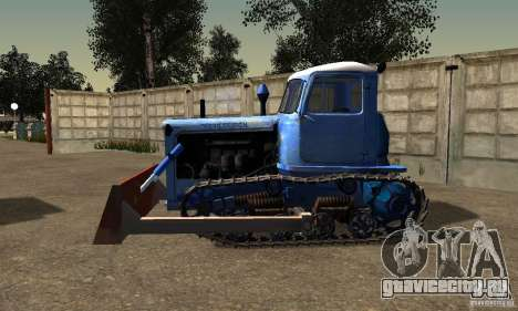 Бульдозер на базе ДТ-75 Казахстан для GTA San Andreas вид слева