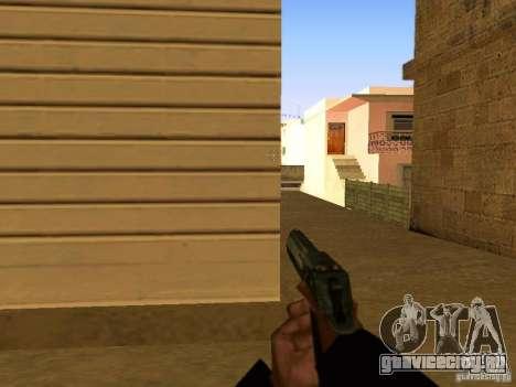 Desert Eagle MW3 для GTA San Andreas седьмой скриншот