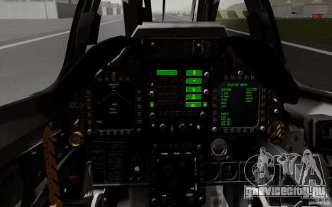 McDonnell Douglas A-4AR Fightinghawk для GTA San Andreas вид сзади