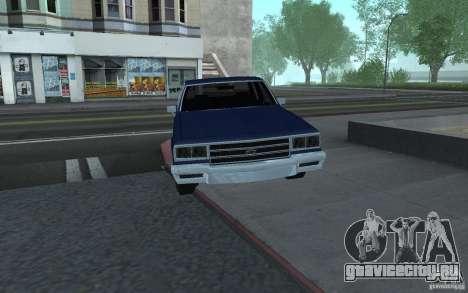 1983 Chevrolet Impala для GTA San Andreas вид сзади слева