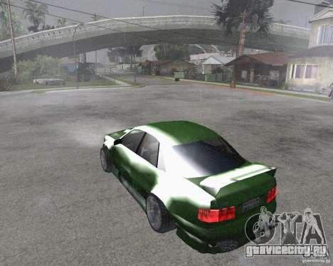 Audi S8 RS Look для GTA San Andreas вид слева