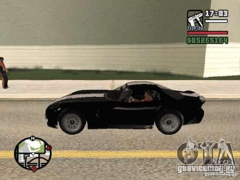 Banshee из GTA IV для GTA San Andreas вид слева