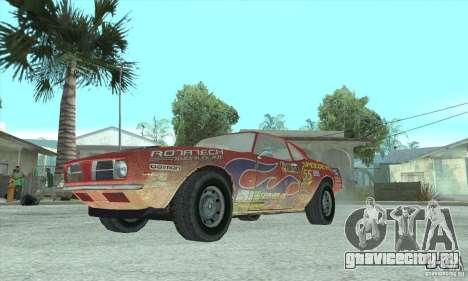 Speedevil из игры FlatOut для GTA San Andreas вид сзади слева