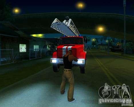 Зил 4334 АЛ-30 для GTA San Andreas вид слева