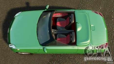 Daewoo Joyster Concept 1997 для GTA 4 вид справа