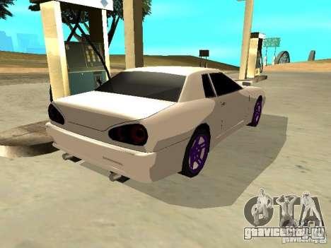 New Elegy v.1 для GTA San Andreas вид сзади слева