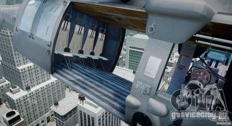 HH-60G Pavehawk для GTA 4 вид сзади