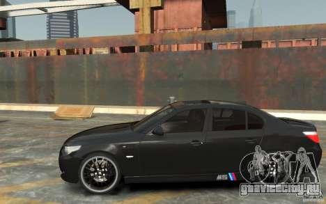 BMW M5 Hamman для GTA 4 вид слева